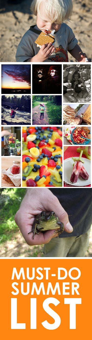 "Summer Bucket List: A mix of kid-friendly and mommy-only items #kiwicrate #ad *I'm making that ""secret"" fruit salad! Maybe the Mojito Popsicles too. ;-)"