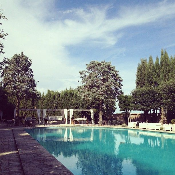 Castello Monaci, outdoor pool