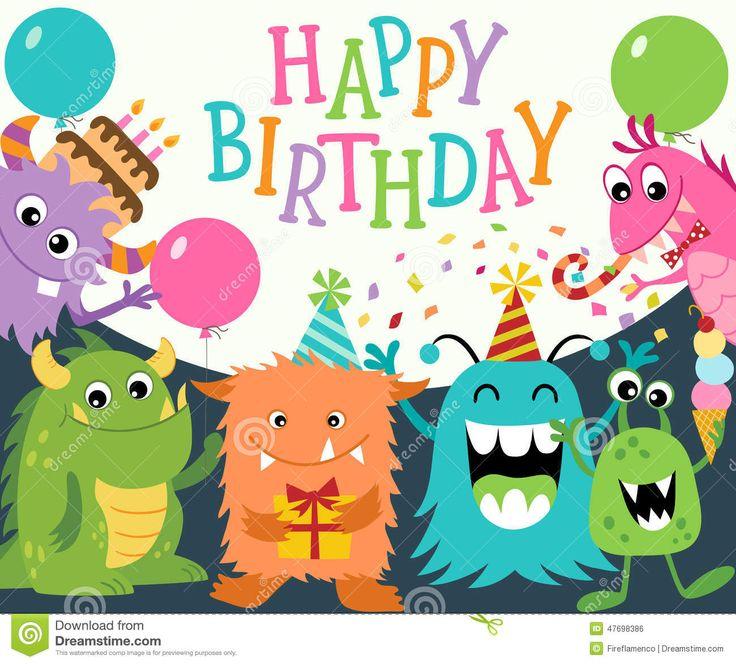 cumpleaños de monstruos - Buscar con Google
