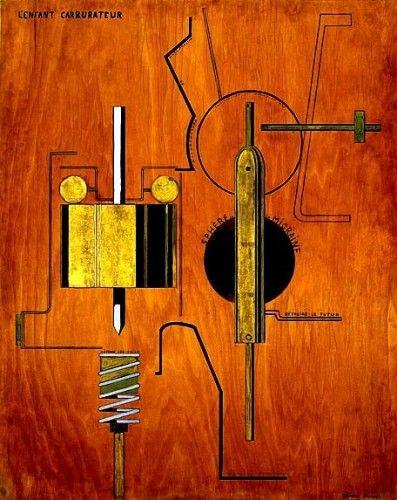 Francis Picabia, L'Enfant carburateur, 1919