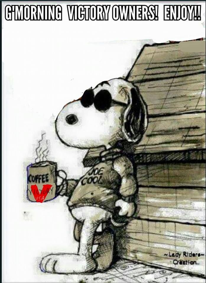 Snoopy Motorcycles Good Morning Snoopy Snoopy Love