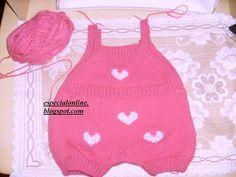 Macacão de bebê passo a passo – Tricotando Crochê