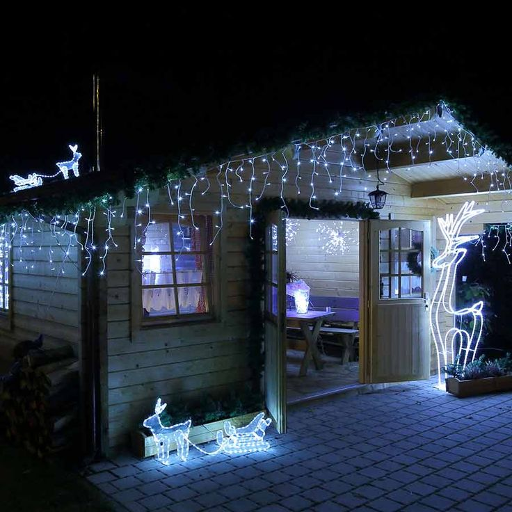 25 best ideas about led weihnachtsbeleuchtung on. Black Bedroom Furniture Sets. Home Design Ideas