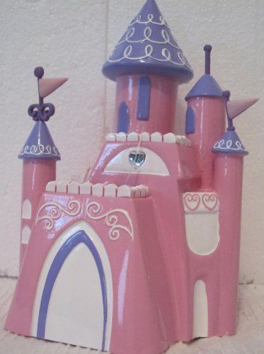 Disney Princess Resin Pink Purple Toothbrush Holder