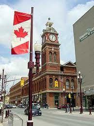 Peterborough Ontario - walk around downtown :)