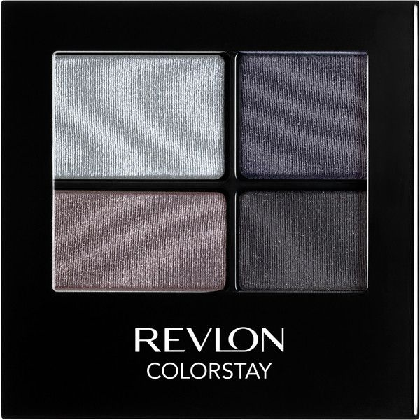 Revlon Colorstay 16 Hour Eyeshadow Quad - Siren ($12) ❤ liked on Polyvore featuring beauty products, makeup, eye makeup, eyeshadow, filler, revlon eye shadow, revlon, eye brow makeup, revlon eye makeup and revlon eyeshadow