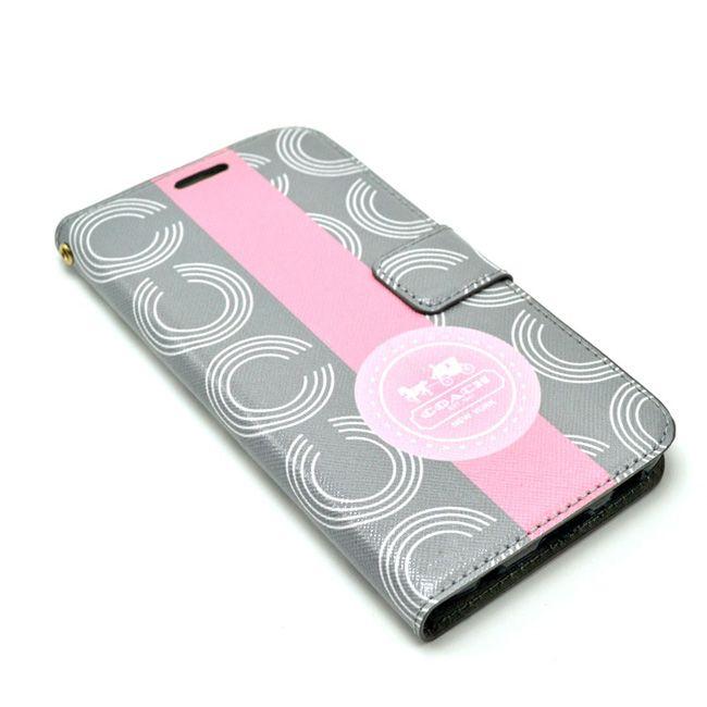 Coach Samsung Galxy S5 Covers Wallet Gray :: Coach Galxy S5 Cases Covers Sleeve Coque Fundas Capa Para