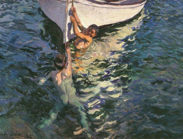 Joaquín Sorolla - Le Bateau blanc. Jávea, 1905 - Sorolla, un peintre espagnol à Paris - Musée des impressionnismes, Giverny - Jusqu'au 06/11/16