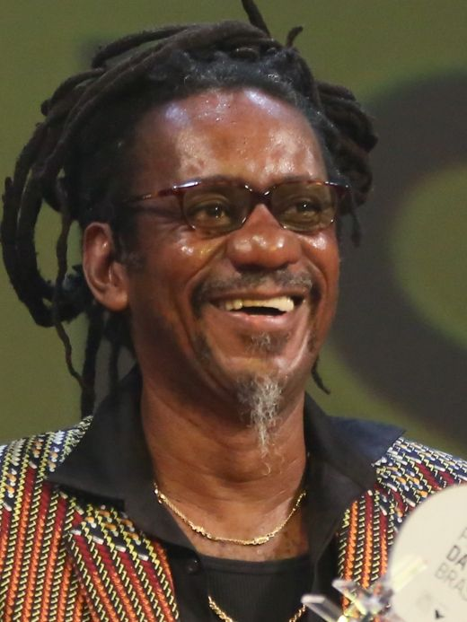 Luiz Carlos dos Santos (January 7, 1951 – August 4, 2017), more commonly known as Luiz Melodia, was a Brazilian actor, singer and songwriter of MPB, rock, blues, soul and samba. He died from BONE MARROW CANCER August 4 2017 at the age of 66.