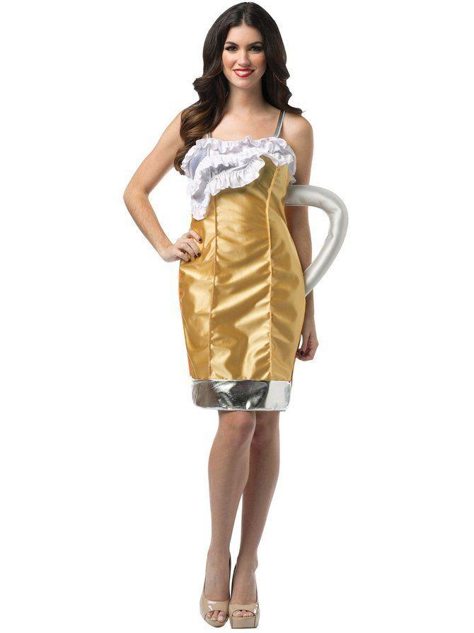 18 Food-Themed Halloween Costumes to Buy on the Cheap Beer Mug Beer Mug Costume ($20)