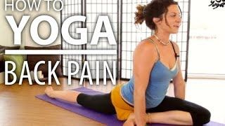 A great yoga video for back pain! The stretches flow into each other very well, and leave my back feeling so much better.