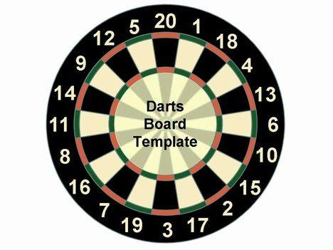 Dart Board Template