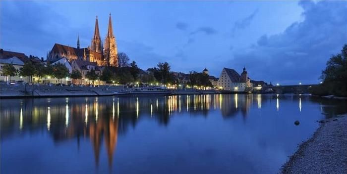 Rio Danúbio, Alemanha