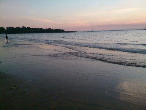 Mindell beach. Its beautiful!