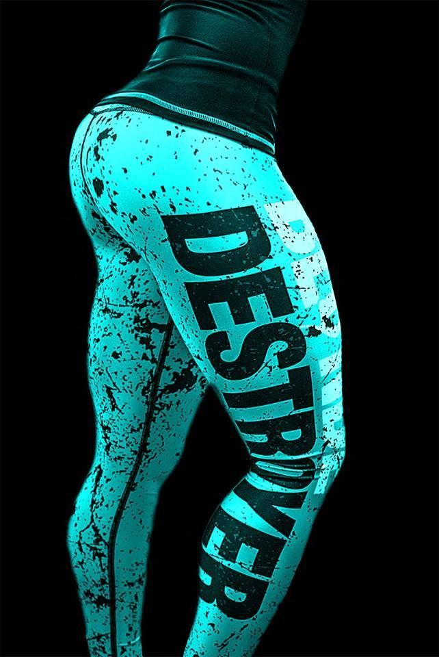 Blonde Destroyer Women s fitness leggings/ gym tights /sport pants size XS