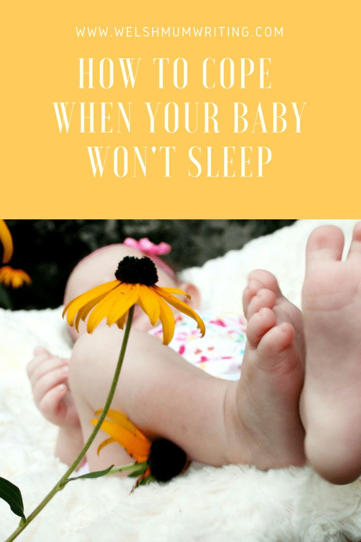How to cope when you have a child that won't sleep