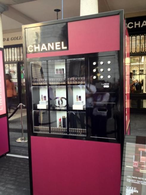 Chanel Vending Machine