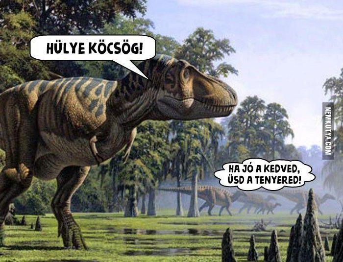 Szegény T-rex... :) Rá senki nem gondol...