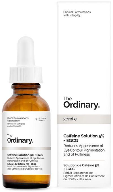 The Ordinary - Caffeine Solution 5% + EGCG  - Serum Pod Oczy z Kofeiną i Zieloną Herbatą