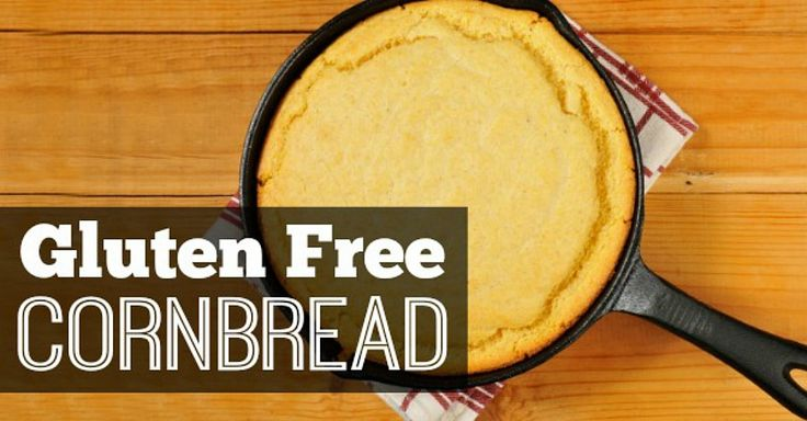 Gluten Free Cornbread is a fun addition to any meal (or on its own ...