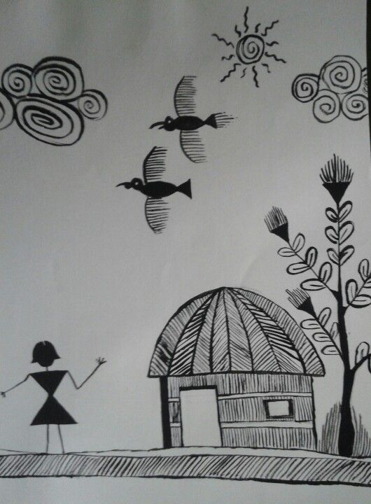 Warli painting...alway awesome