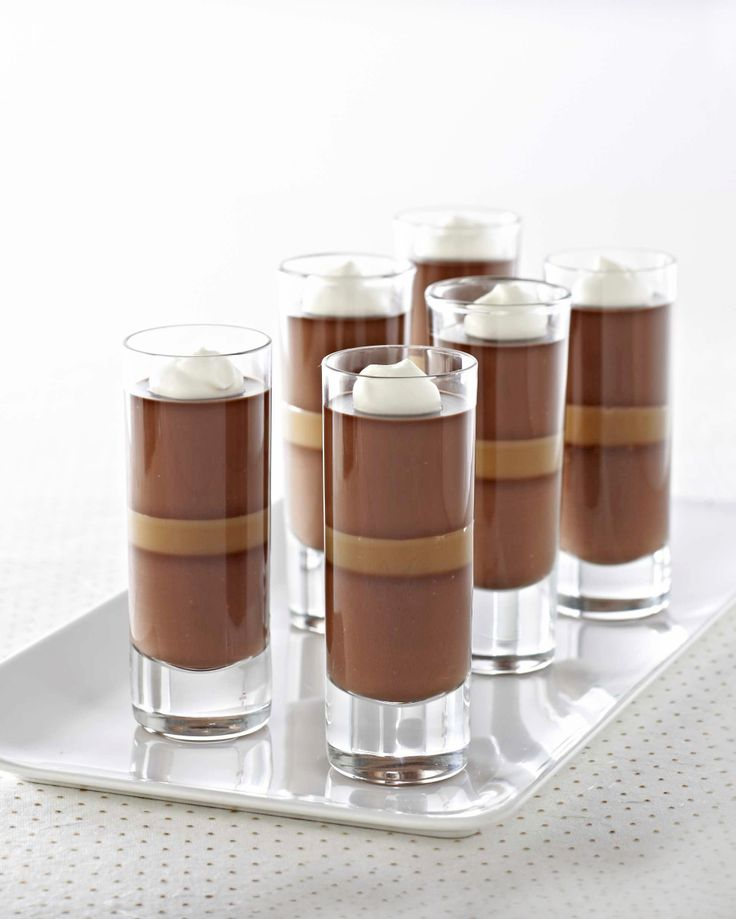 Ghirardelli® Dark Chocolate Caramel Panna Cotta