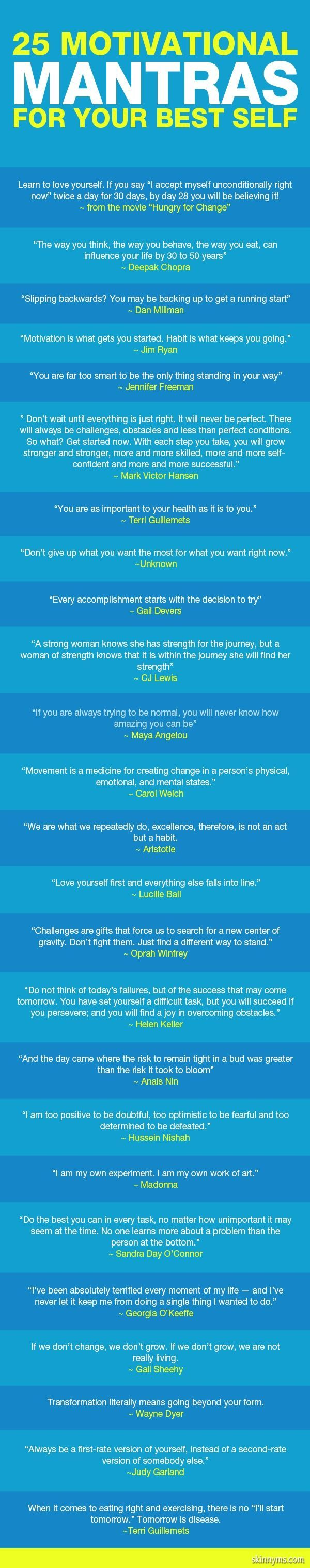 Cleanse your Subconscious Mind with 25 Motivational Mantras for Your Self Confidence! -