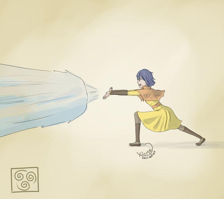 Wendy Marvell the Airbender by xiomz.deviantart.com on @deviantART