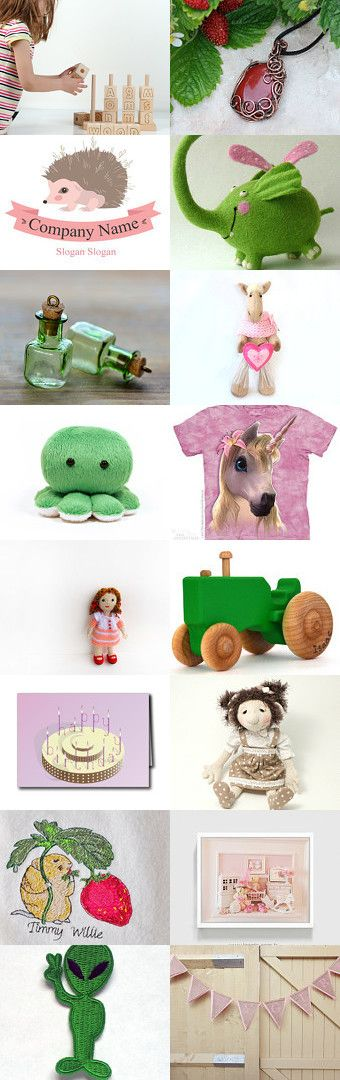 Children's World by Anna Ilinykh on Etsy--Pinned with TreasuryPin.com