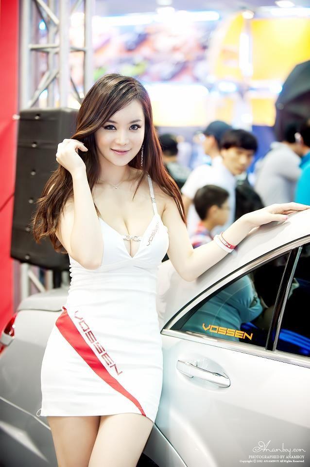 Lim Ji Hae 2012 Seoul Auto Salon Korean Racing Girls