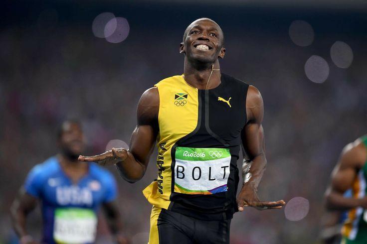 #陸上 今大会で快挙!ボルト選手は、初めて100mを3度優勝したオリンピアンです🏅🏅🏅👏🏼👏🏼👏🏼👏🏼😮😮😮 #オリンピック #リオ2016 #gold #リオ五輪
