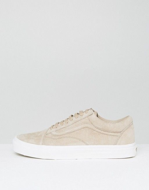 Vans Old Skool Premium Suede Pack In Beige