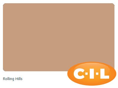 Look at this gorgeous CIL paint colour I found at CIL.ca!  It's Rolling Hills 90YR 38/239.