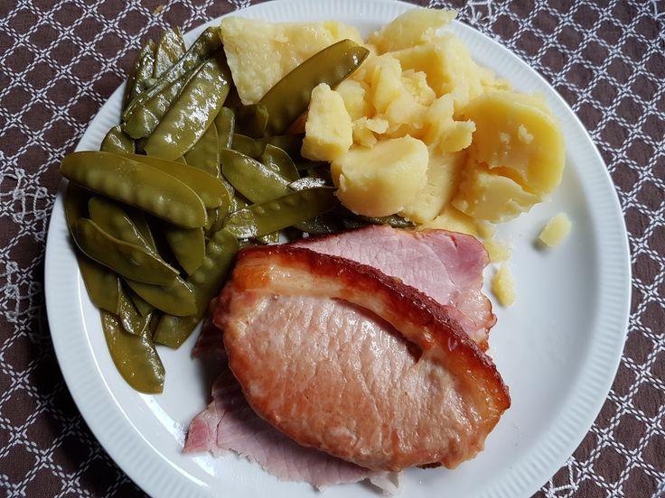Prague's roast, pod and potatoes