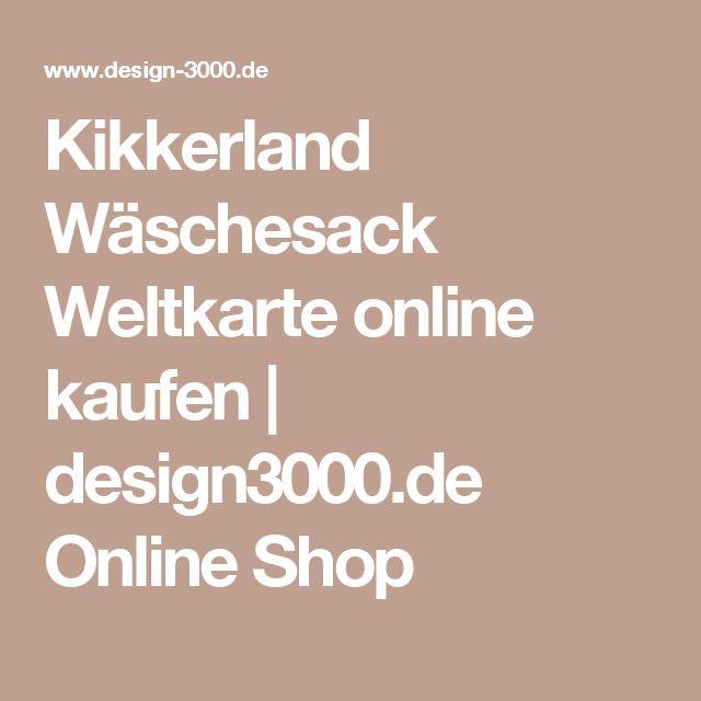 Good Kikkerland W schesack Weltkarte online kaufen design de Online Shop