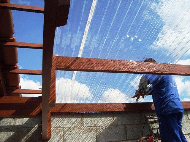 25 melhores ideias sobre telha policarbonato no pinterest - Placa policarbonato transparente ...