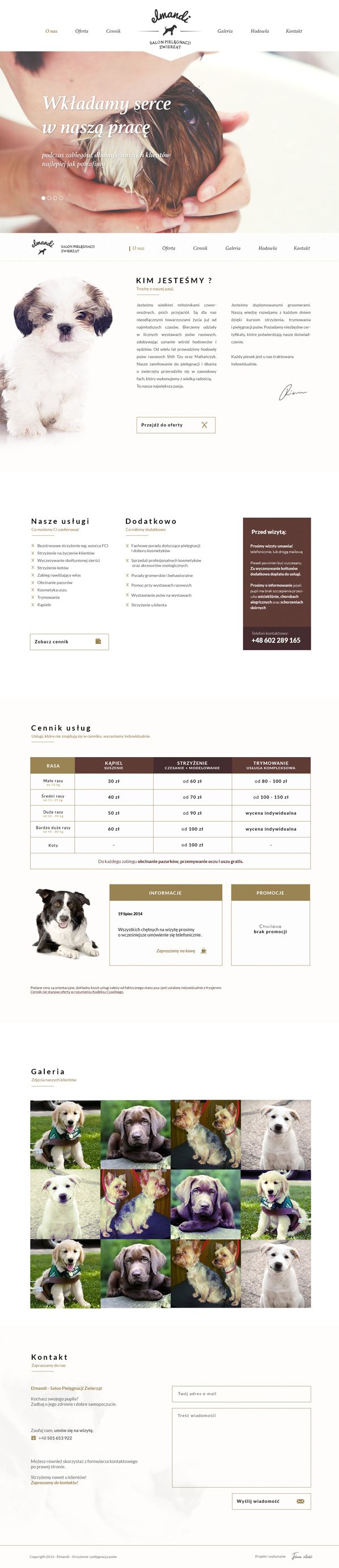 45 best dog grooming images on pinterest dog grooming business elmandi groomer on behance website httpbit1ojpetr solutioingenieria Gallery