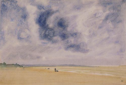 Bord de mer, ca 1864, James McNeill Whistler.