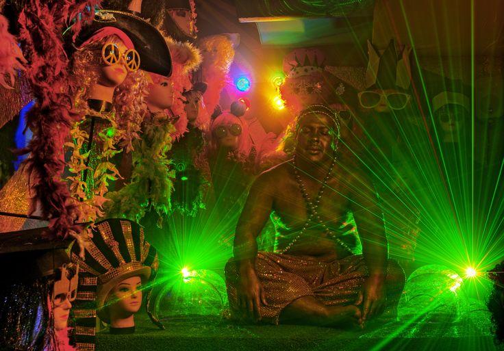 Psychedelic trance artist. Madame Zingara.
