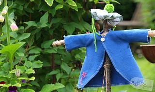 It's fun *Mini-Vogelscheuchen-DIY* * Living & Green