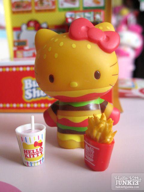 Sanrio Re-ment Hello Kitty Burger Shop