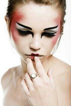 modern geisha makeup - Google Search