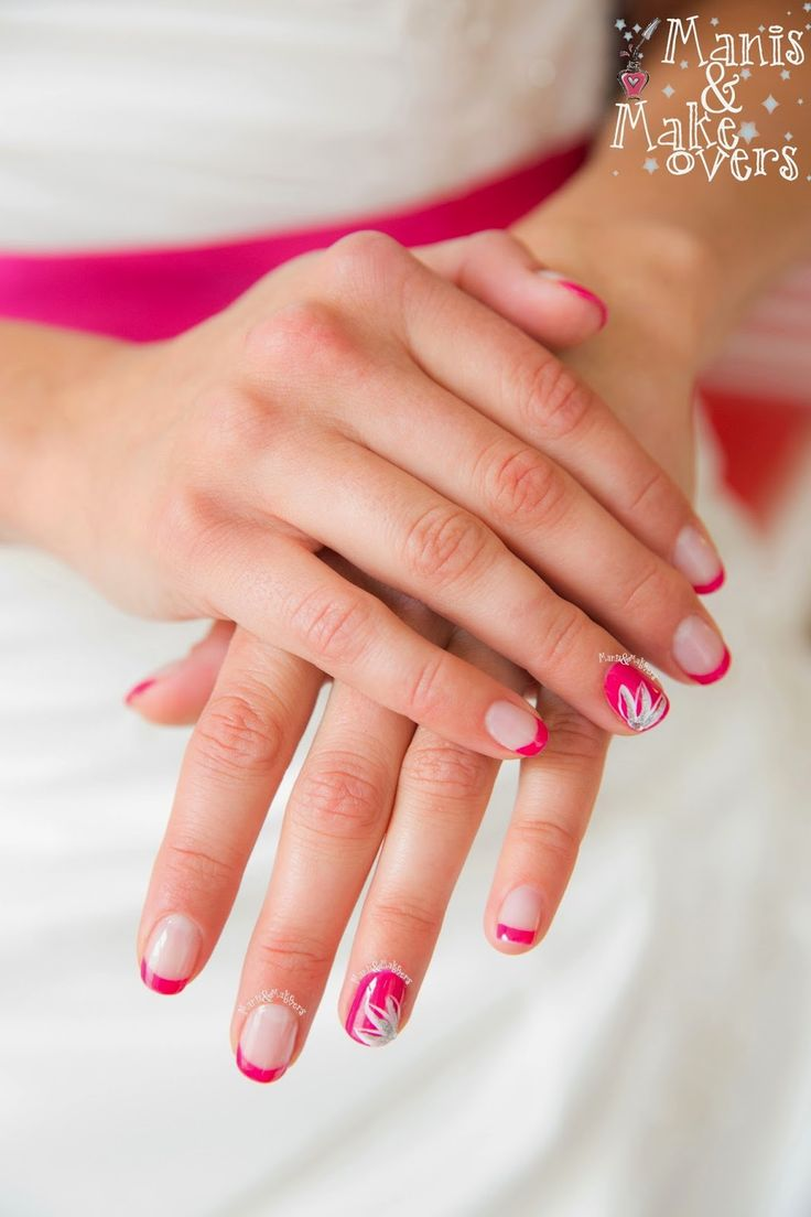 25+ Best Ideas About Pink Wedding Nails On Pinterest