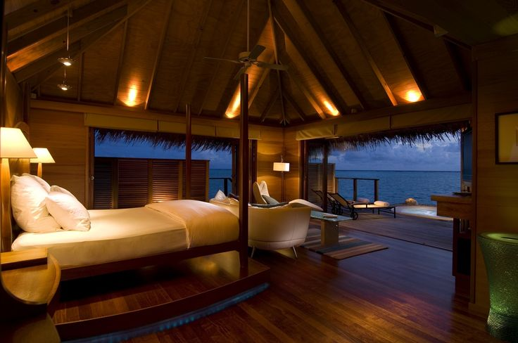 Oh, my God, this is so fantastic, so romantic, I wish to be there right now!! Conrad Maldives Resort, Rangali Island