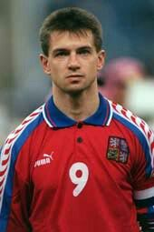 Pavel Kuka of Czech Rep at Euro '96.