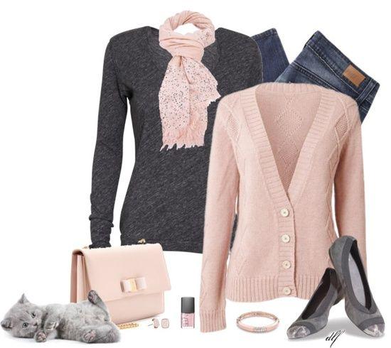 Dressing Your Truth Type 2 | Dressing Your Truth: Type 2 / {Pinks and grays!
