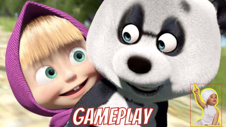Masha eo Urso em Portugues Brasil Jogo 🎀📤 Gameplay 😍😂 Masha e o Urso 🔴🔵 ...