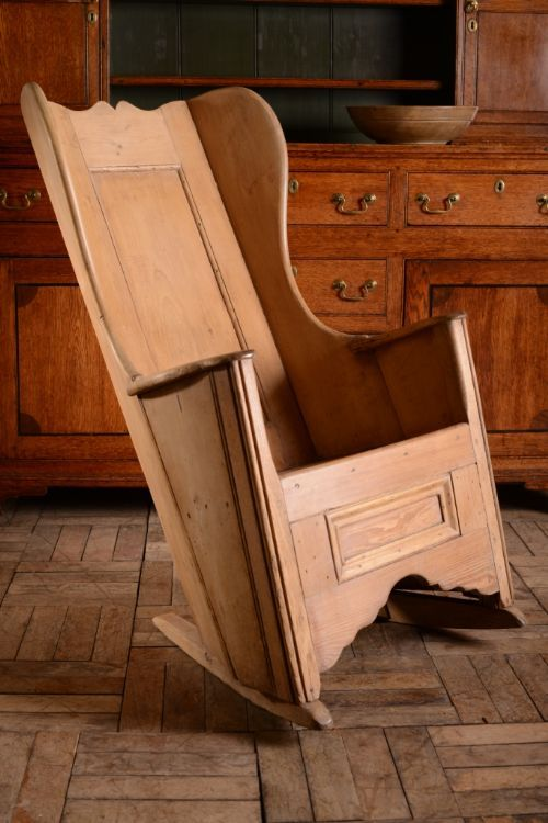 19TH CENTURY ENGLISH ANTIQUE PINE LAMBING CHAIR. Rocking ... - 540 Best Just Chairs & Benches Images On Pinterest 18th Century