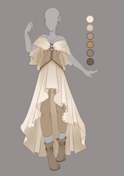 Dress- use for Dream Witch: add nightgown collar to cape; use billowy nightgown sleeves.; turn corset into robe, add under-skirt