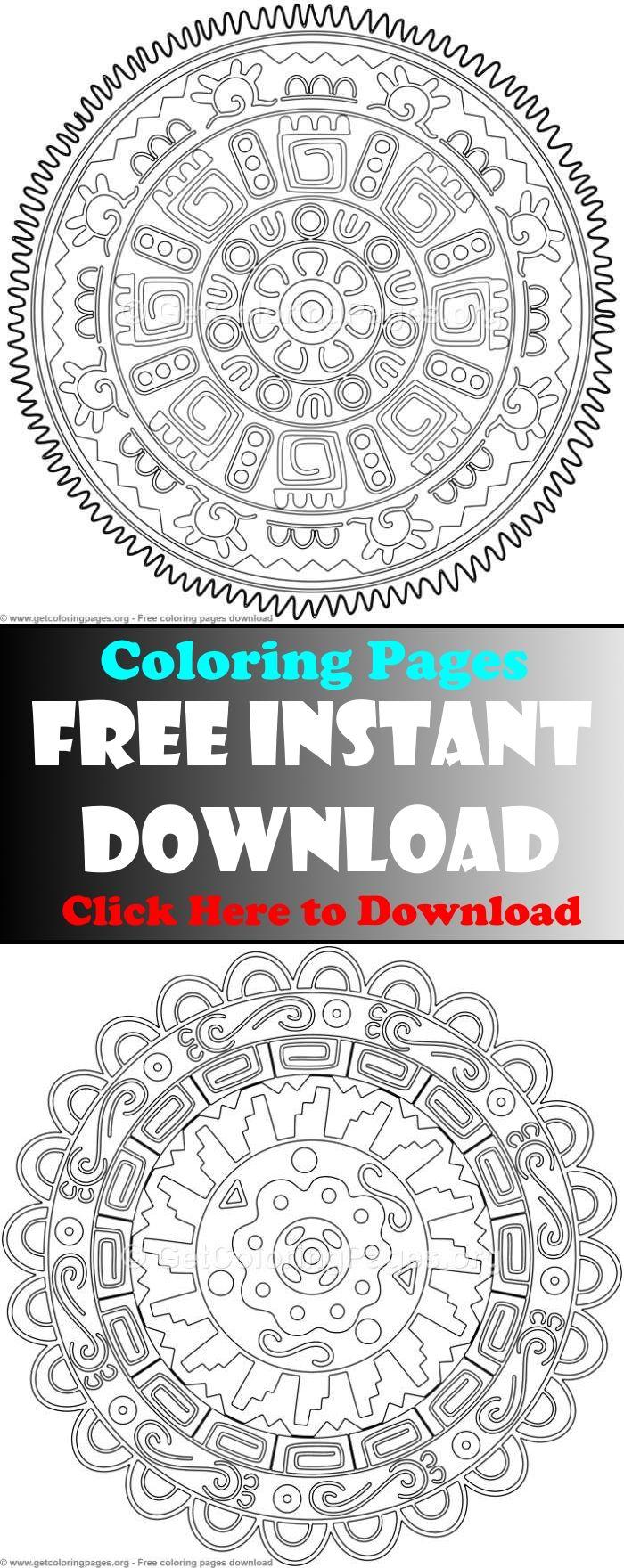 Mandala Coloring Pages Advanced Mandala Coloring Pages Mandala Coloring Pages For Kids Mandala Coloring Mandala Coloring Books Coloring Books Mandala Coloring